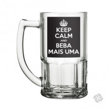 CANECA CHOPP KEEP CALM 340ML