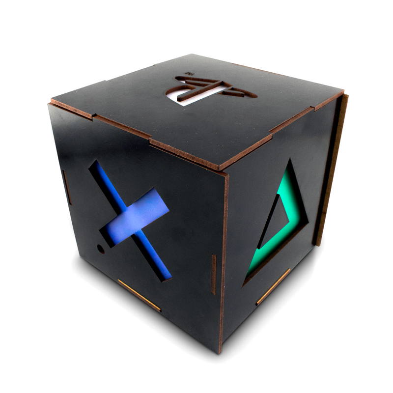 LUMINARIA CUBO PLAYSTATION